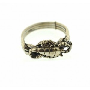 Alloy Metal Puzzle Silver Plated, Woman Ring, Ladi...