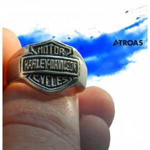 Harley Davidson Solid Sterling Ring, Biker, Motorc...